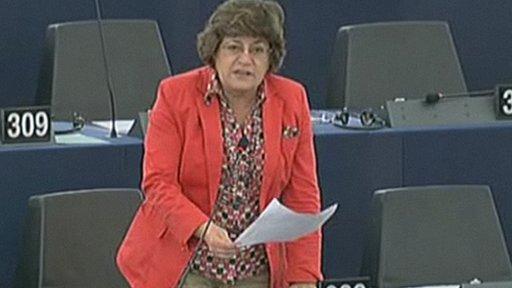 Portuguese Social-Democrat MEP Ana Gomes