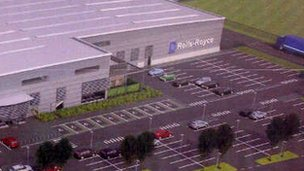 The Advanced Blade casting Facility at Waverley near Rotherham will occupy a 100,000 sq ft site