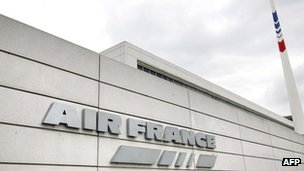 File picture of French airline company Air France's headquarters at the Roissy-Charles de Gaulle airport