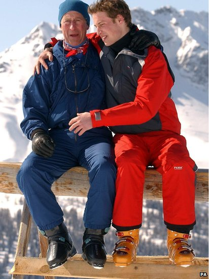 William And Kate Skiing Kiss