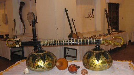 One of the hundreds of traditional instruments