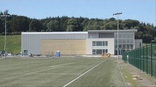 Celtic&#039;s Lennoxtown training ground