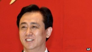 Evergrande Real Estate Group's chairman Xu Jiayin