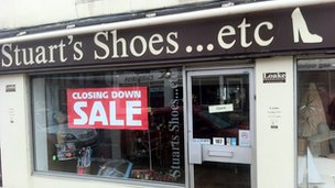 Stuart's Shoes shop in Northampton