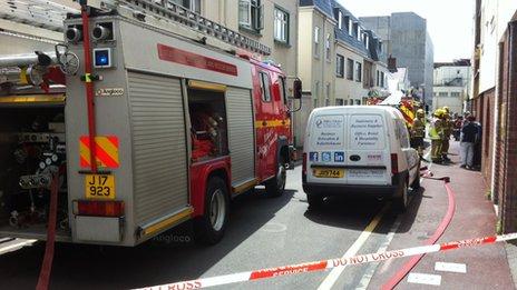Lewis Street fire