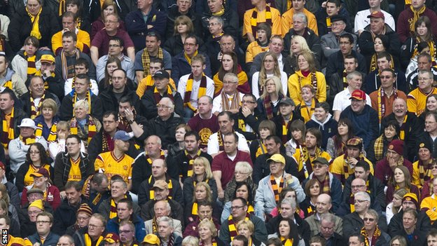 Motherwell supporters