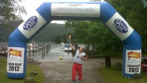South Lakeland Parks charity relay