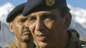 Pakistani army chief Gen Ashfaq Parvez Kayani in April 2012
