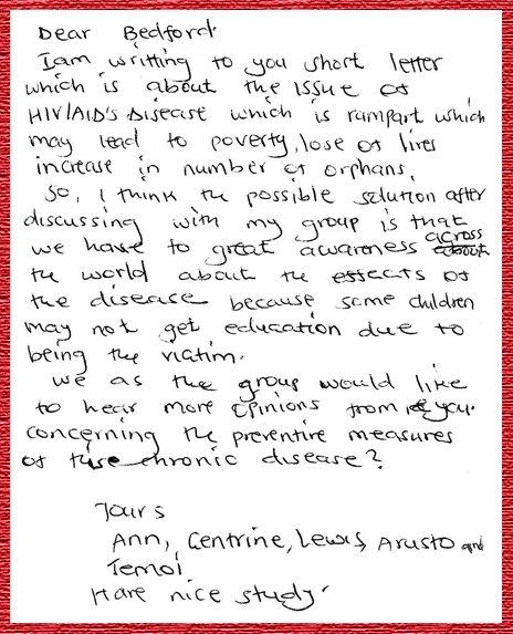 Bishop Okiring letter