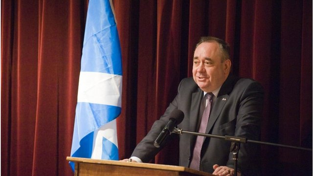 Alex Salmond in California
