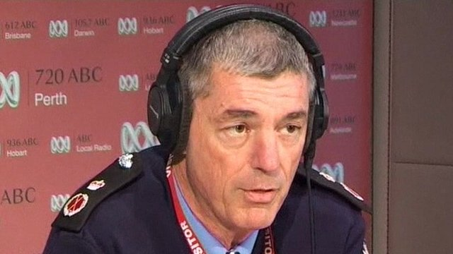 Western Australian Police Commissioner Karl O'Callaghan