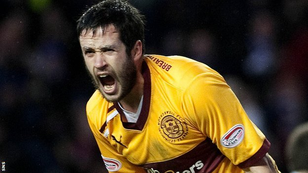 Tim Clancy helped Motherwell finish third in the SPL last season