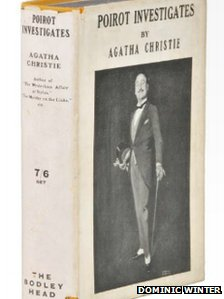 First Edition of Agatha Christie's Poirot Investigates