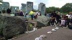 A bouncy Stonehenge