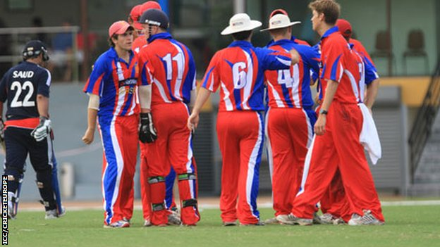 Jersey&#039;s cricketers at World Cricket League Division Six in Malaysia