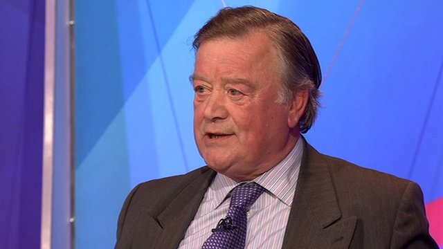 Ken Clarke on Question Time