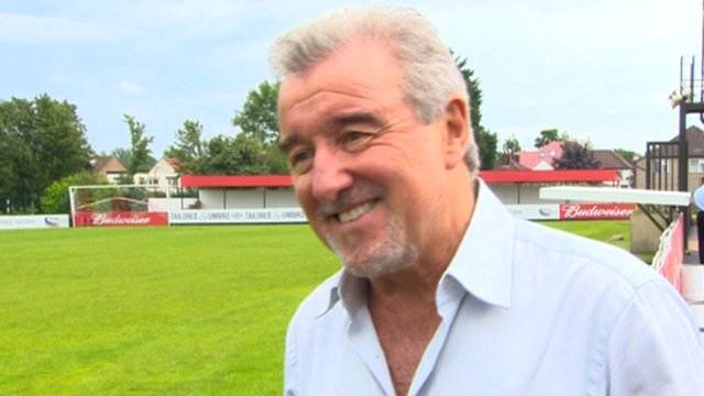 Former England manager Terry Venables
