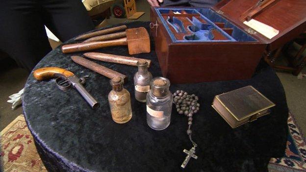 Victorian vampire killing kit