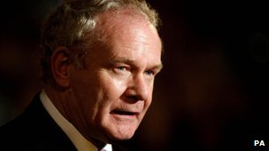 Martin McGuinness has been invited to a reception along with the Queen next week