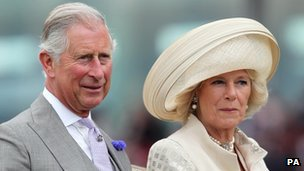 Prince Charles and the Duchess of Cornwall at Royal Ascot