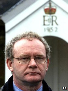 Martin McGuinness, pictured in 2001