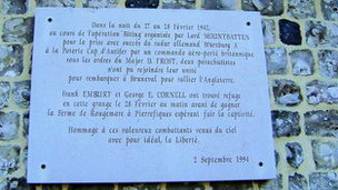 Frank Embury plaque