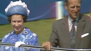 The Queen and the Duke of Edinburgh