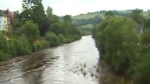 River Usk, Brecon