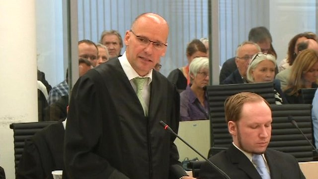 Lawyer Geir Lippestad
