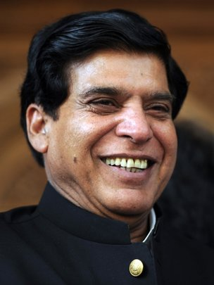 "The nominated candidate for prime minister from the ruling Pakistan People""s Party (PPP), Raja Pervez Ashraf"
