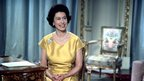 The Queen before her Christmas broadcast in 1967.