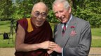 Dalai Lama and Prince Charles