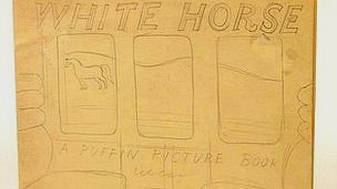 &quot;White Horse,&quot; by Eric Ravilious, who was killed in World War II. 