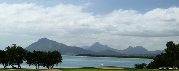 View of Mauritius