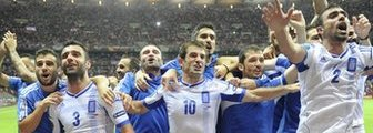 Greece celebrate