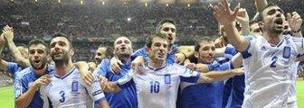 Greece celebrate