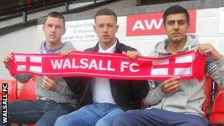 Aaron Williams, Ben George, Malvind Benning (l to r)