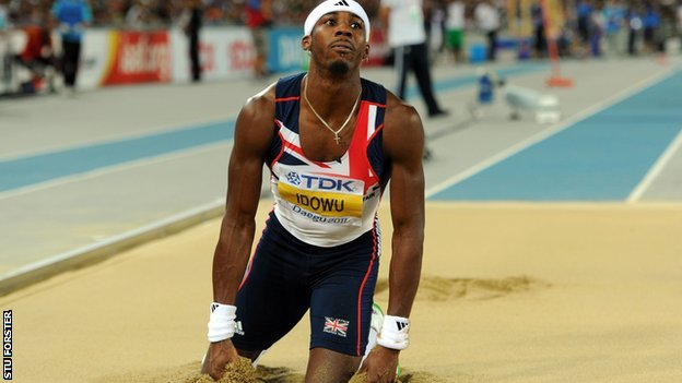 GB triple jumper Phillips Idowo