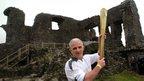 Michael Liptrot at Kendal Castle