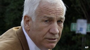 Jerry Sandusky, Bellefonte, Pennsylvania, 22 June 2012