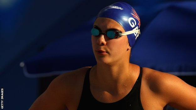 British swimmer Aimee Willmott