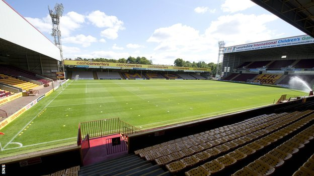 Motherwell&#039;s Fir Park stadium
