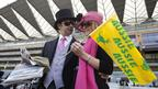 Black Caviar supporters at Royal Ascot