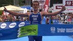 Alistair Brownlee wins the World Series Triathlon in Kitzbuehel