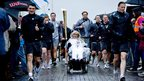 Kirsty Howard with the torch