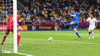 De Rossi strikes at goal