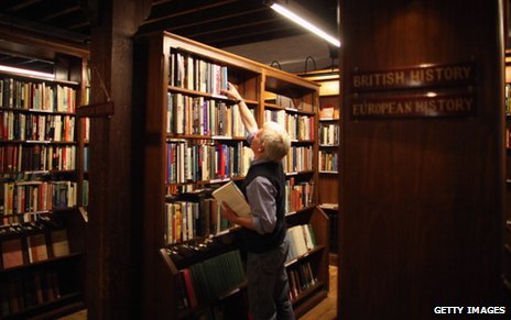 Bookshop (not the one Will went to)