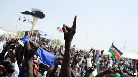 Celebrations following South Sudan independence referendum