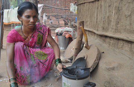 The Greenway Grameen Infra stove, India