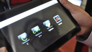 Aakash 2 tablet computer